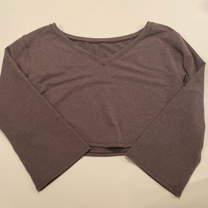 Lululemon athletica cropped sweater
